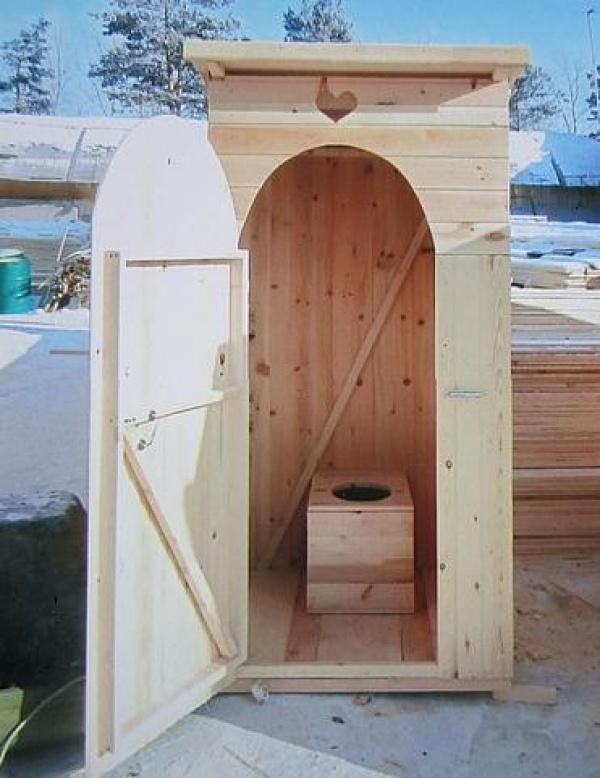 Туалет на даче своими руками дешево и быстро