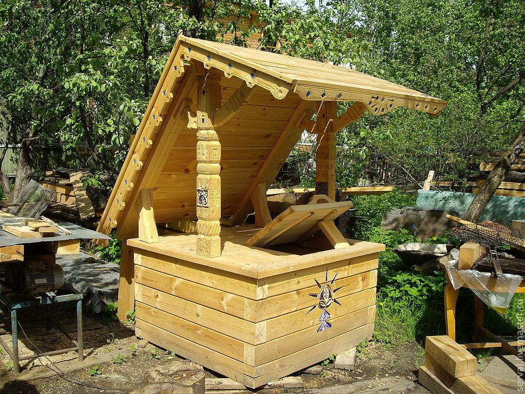 снижаются деревянный домик для колодца термобелья Несомненно